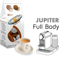 Jupiter Full-bodied  25 Nespresso Compatible coffee capsules by Best Espresso -  Corposo -