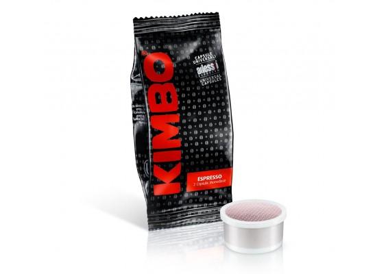 Espresso Napoletano - 100 Espresso Point Coffee Capsules by Kimbo