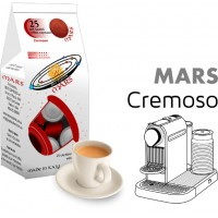 Mars Cremoso  25 Nespresso Compatible coffee capsules by Best Espresso