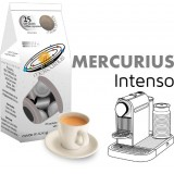 Mercurius Intenso 25 Nespresso Compatible coffee capsules by  Best Espresso