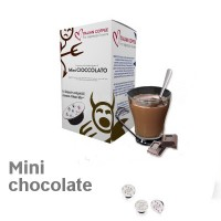 Mini Chocolate 16 Lavazza A Modo Mio Compatible capsules by Italian Coffee