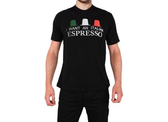T-shirt - I want an Italian Espresso