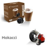 Mokaccino Coffee - 16 Mokaccino Capsules Dolce Gusto Compatible by Italian coffee