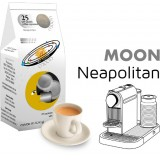 Moon Neapolitan coffee  25 Nespresso Compatible coffee capsules by Best Espresso