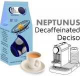 Neptunus Decaffeinated Intenso 25 Nespresso Compatible coffee capsules by Best Espresso - deciso