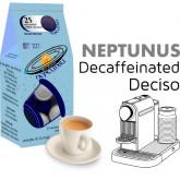 Neptunus Decaffeinated Intenso 25 Nespresso Compatible coffee capsules by Best Espresso - deciso