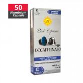 Decaf New Aluminium Capsule Compatible Nespresso - Best Espresso