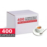 400 Nespresso Compatible Capsules - best value - OUR LOWEST PRICE EVER-