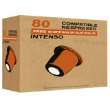 Intenso - 80 Best Espresso Nespresso Pods compatible