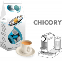 Chicory  coffee  25 Nespresso Compatible coffee capsules by Best Espresso -