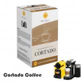 Cortado macchiato  -  16 Coffee capsules  Nespresso compatible by Best Espresso
