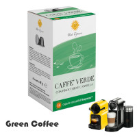 Raw Green Coffee - 16 capsules  Nespresso compatible by Best Espresso
