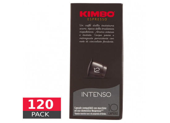 Intenso - 120 capsules Nespresso Compatible by Kimbo