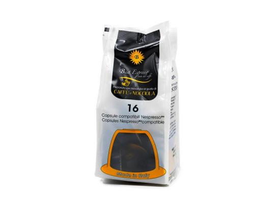 Hazelnut Coffee 16 capsules Nespresso compatible by Best Espresso