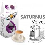 Saturnus Velvet  25 Nespresso Compatible coffee capsules by  Best Espresso