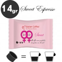 Sweet espresso - 25 coffee capsules compatible with Espresso Point MAXI - 50 coffee by Italian Coffee