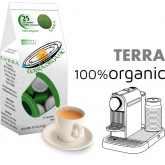 Terra 100% Organic Coffee 25 Nespresso Compatible coffee capsules by Best Espresso