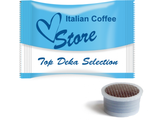 Top Decaf Selection 100% Arabica capsules by  Italian Coffee