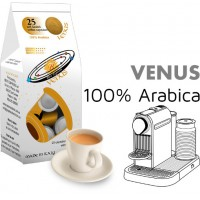 Venus 100% arabica 25 Nespresso Compatible coffee capsules by Best Espresso