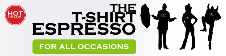 Espressoland T-shirt - I want an Italian Espresso -
